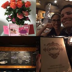 Last night!  #grillfish #miamibeach #dinnertime #love #happiness #happilymarried #miamistyle #miamilife TE AMO @victormbolivarl gracias por ser tan especial. by joyce_parra