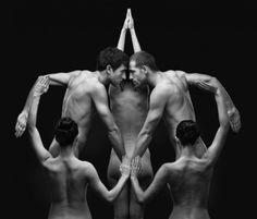 Test di Rorschach con nudo: cosa vedi in questi corpi?