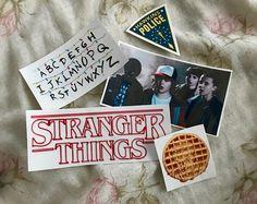Stranger Things Sticker Pack of 5