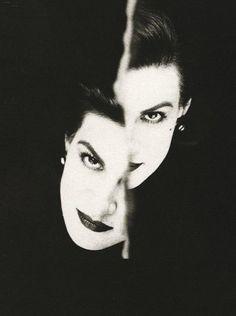 Paloma Picasso, Jardin des Modes, 1987 (David Seidner)