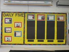 Daily 5/CAFE Bulletin Board
