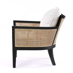 Our Hampton Club Chair w Black Frame has arrived Cane Furniture, Online Furniture, Modern Furniture, Furniture Design, Outdoor Furniture, Vintage Chairs, Sophisticated Style, Sofa Chair, Club Chairs