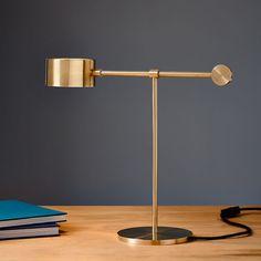 Balance Lamp in Brass — Auhaus Architecture