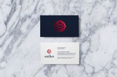 """Saiko is a real estate agent that is located in Chapecó / SC. The idea of communication was working a symbol that represents a dojo, following reference the word ""Saiko"" meaning the be…"