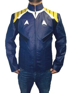 Celebrity Style Chris Pine Star Trek Leather Costume Jacket - Best Deal Offer !! #BNH #BasicJacket