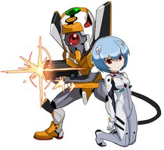 Rei Ayanami from Puzzle & Dragons