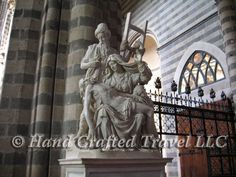 Travel Picture: Day 35. Ippolito Scalza's Pieta, in Orvieto Cathedral, Orvieto, Italy. http://www.handcraftedtravel.com/blog.php?id=8380204601801985682
