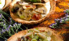 Receta de Tartaletas de pan de molde
