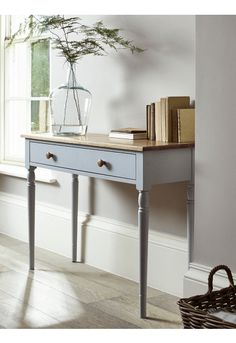 Limewashed Console Table - Console Tables - Dining, Coffee & Side Tables - Luxury Home Furniture Luxury Home Furniture, Home Interior, Rustic Furniture, Interior Design, Antique Furniture, Furniture Ideas, Furniture Online, Table Furniture, Modern Furniture