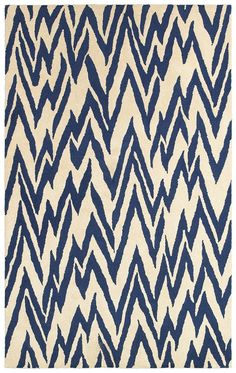 Dazzle Beige/Blue Rug