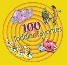 100 TODDLER FAVORITES (Music for Little People) - 100 songs on 3 CDs –great value for home, car and classroom-  this high quality song collection is packed with children's classics that will inspire sing-alongs and dancing. Parents' Choice Recommended   http://amzn.com/B0007OP1BM