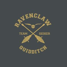 Amazon.com: Ravenclaw Quidditch Team Seeker Harry Potter, Women's T-Shirt…