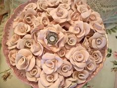 Make your own clay roses tutorial! So unique!