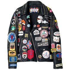 ライダース ❤ liked on Polyvore featuring outerwear, jackets, tops, leather jacket, real leather jackets, leather jackets, genuine leather jackets and 100 leather jacket