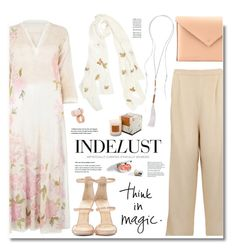 """Indelust.com: Think in magic!"" by hamaly ❤ liked on Polyvore featuring Aglaia, Diya, Giuseppe Zanotti, women's clothing, women's fashion, women, female, woman, misses and juniors"