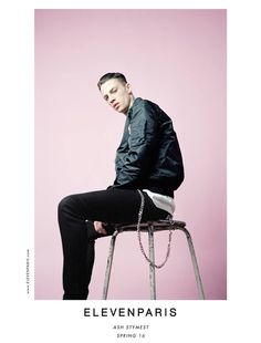 Ash Stymest | Eleven Paris Spring/Summer 2016 Campaign | Photographed by Maxime Dubois ❤