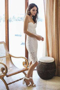 Harper Lace Dress - Dresses | LADY LUNA BOUTIQUE