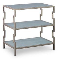 Mr. Brown Fontana Bedside/3 Tier Bookshelf for Guest Bedroom