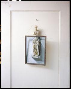 John Chervinsky, 'Statue, Painting on Door,' 2012, Wall Space Gallery