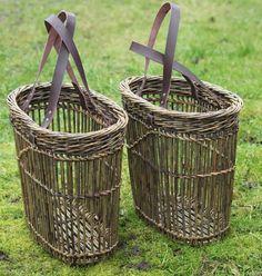 Hjørnholms Pileblog: Fitchede kurve / Fitched baskets