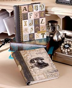 This Vintage-Inspired Address Book is designed as a throwback to the past. It's not only stylish, but also keeps everyone's address and phone number handy. 21 T