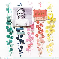 Bright Sunshiny Day & Design Team Layouts for iNSD   Paige Taylor Evans