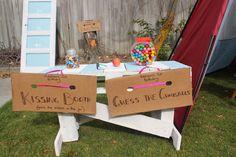 On A Crafty Adventure: Addison's 1st Birthday Carnival