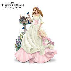Thomas Kinkade Figurines Collection | Enlarge Image Thomas Kinkade Victorian Lady Figurine Collection ...