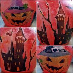 """Podzimní tvoření s dětmi - Halloweenská """"lucerna""""   Moje mozkovna"""