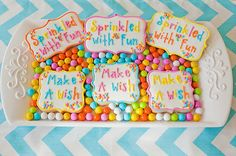 | Snickety Snacks: Love these for a birthday party!