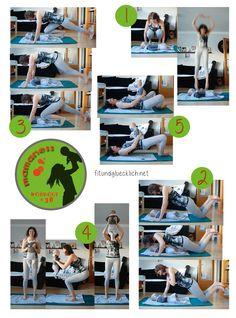 Fit & Happy - Needy Baby Workout - für Tage, an denen das Baby sehr anspruchsvoll ist, du aber trotzdem dein Workout machen möchtest!