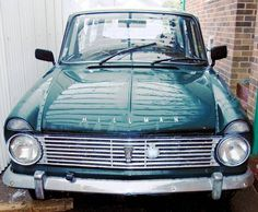 Hillman Super Minx Estate (1965).  Replaced the minx with one of these. It blew a rear main seal in a little town in Wyoming. I left it there.