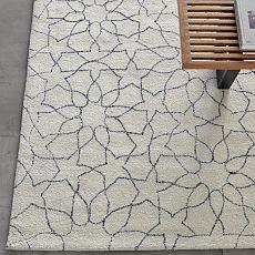 Kasbah Wool Rug - Ivory | west elm