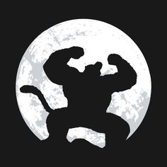 Awesome 'Night+Monkey' design on TeePublic!