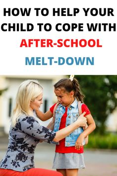 "Do you have a child who has a meltdown after-school or when back from a nursery?⁠ After so many months at home, this school year is not like any other. But no matter the circumstances, it's very common for children to be ""well-behaved"" at school then to have huge meltdown as soon as they are back home. It's normal! It's also called ""after-school restraint collapse"" by Andrea Loewen Nair.⁠"