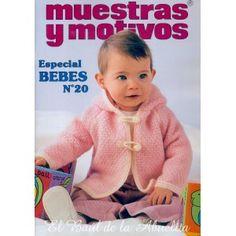 ЖУРНАЛЫ Muestras y Motivos Knitting Books, Crochet Books, Knitting For Kids, Baby Knitting, Crochet Lace Edging, Crochet Baby, Knit Crochet, Knitting Magazine, Crochet Magazine