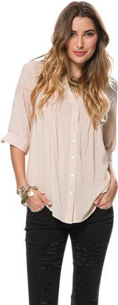 FURY BUTTON DOWN TOP