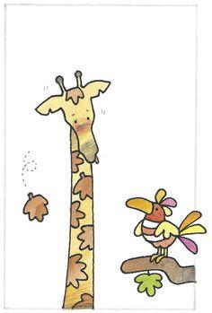 Como dice Andrés Guerrero, en el mundo hay muchas jirafas de otoño que necesitan nuestra ayuda