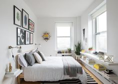Facebook designer Derek Bradley makes a living making cyberspace beautiful. With Homepolish, he made his Union Square apartment space beautiful IRL. Now you can shop the look! #Safavieh #Homepolish
