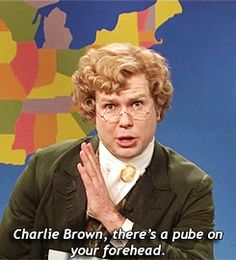 Jebidiah Atkinson on Weekend Update. A Charlie Brown Christmas. SNL.