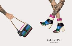 Valentino Has Us Seeing Stripes for Its Fall Accessories Campaign - Fashion Gone Rogue