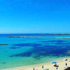 Felice pomeriggio a tutti da quel pezzo di paradiso chiamato #Sicilia! #Cinisi #Mare #Spiaggia