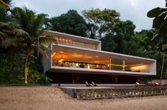 "Paraty House by the infamous Marcio Kogan. ""thunderbirds are go!"""