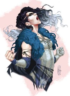 Critical Role, Yasha, The Mighty Nein Character Creation, Character Concept, Character Art, Critical Role Campaign 2, Critical Role Fan Art, Critical Role Characters, D D Characters, Fantasy Characters, Wow Art