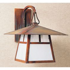 <strong>Arroyo Craftsman</strong> Carmel 1 Light Wall Lantern