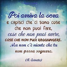 Frase buona notte romantica New Years Eve Party, True Words, Good Mood, Best Quotes, Affirmations, Improve Yourself, Link, Night, Frases