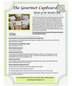 The Gourmet cupboard by Suezee. Independent distributor.  http://www.thegourmetcupboard.com/sites/suebozeman8383