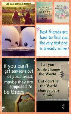 Best friend collage