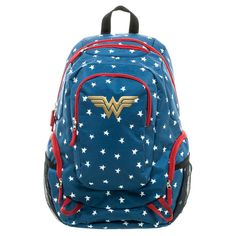 DC Comics Wonder Woman Commuter Backpack - Blue,