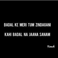611 Best Hindi Lyrics Quotes images in 2018 | Lyric Quotes ...
